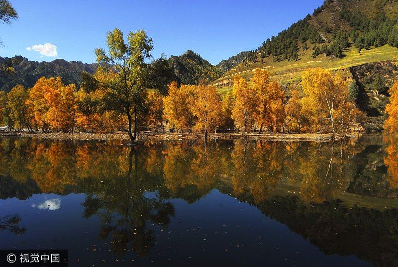 互助北山国家森林地质公园坐落于祁连山脉南麓的东端,公园山体地貌