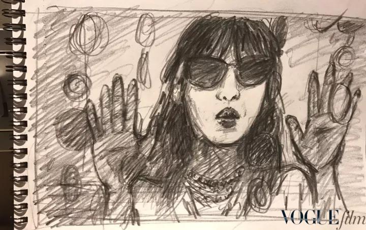 周迅、胡歌主演《某种爱的记录》:敞开大门的咖啡馆那开满鲜花的露台上亲吻