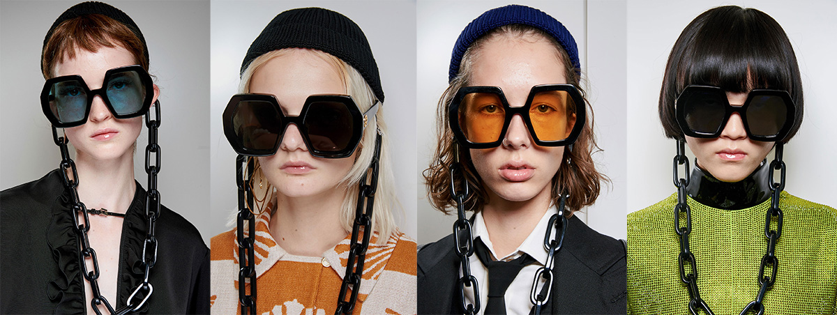 米兰时装周Gucci 2020春夏系列太阳镜