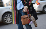 时装周街拍 时髦人都少不了一款腕表