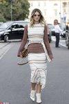 复古Midi skirt 40年代优雅的记忆
