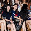 马苏、张梓琳、刘雯以及媒体人李晖与叶子亮相#TOMMY NOW2016秋季时装秀