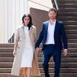 Meghan, Duchess of Sussex in Stuart Weitzman