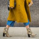 从去年火到现在的粗跟短靴,怎么穿才可以既显腿瘦又时髦?
