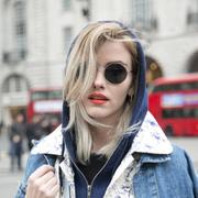 帽子墨镜红唇 伦敦的潮人都是这样妆扮自己的