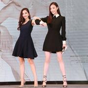 Angelababy、倪妮穿Jimmy Choo 出席《新娘大作战》发布会