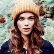 戴毛线帽,你也要有好发型