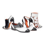 Santoni 2016 秋冬女士鞋款 – 黑与白的狂热