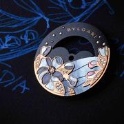 "BVLGARI""月夜花园""月相腕表:于花前月下共赏时光流动之美"