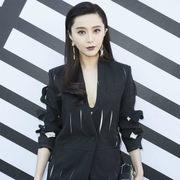 范冰冰领衔众星亮相Louis Vuitton2017春夏巴黎时装周