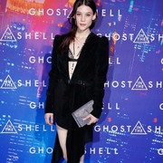 Astrid Bergès-Frisbey in Saint Laurent - Paris