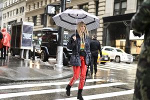 2017秋冬纽约时装周街拍 DAY4