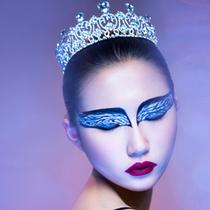 年末派对造型cosplay 变身电影《黑天鹅》女主角