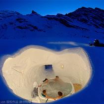 在酒店中体味冰与雪的奇幻世界