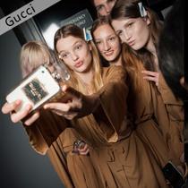 眼镜女孩如何化妆 Gucci 2015秋冬秀场教会你