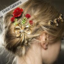 妈妈万岁!2015秋冬Dolce Gabbana秀场妆容发型盘点
