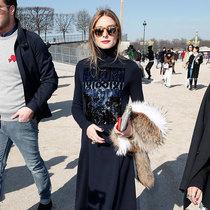 时尚与美貌兼得 名媛奥利维亚·巴勒莫的时装周Look