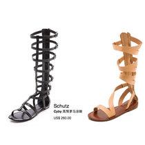 秀场频现罗马凉鞋 最爱夏天的长腿神器!