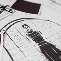 Prada:插画中的眼镜