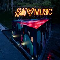 H&M LOVES MUSIC潮音派对于北京完美落幕
