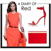 高调亮红 夏天怎么穿红色