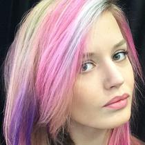 彩虹发自己也能染?专业发型师是这样做的