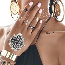 连Beyoncé都不能拒绝的金属纹身风潮