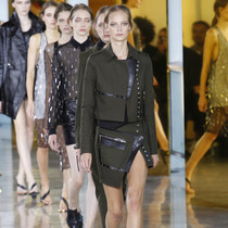 #SuzyPFW: Anthony Vaccarello – Denim to the Fore