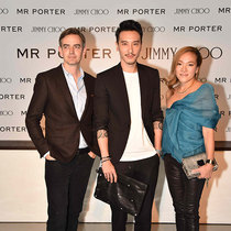 "JIMMY CHOO X MR PORTER 携手举办""The World's Best Shoes""派对"