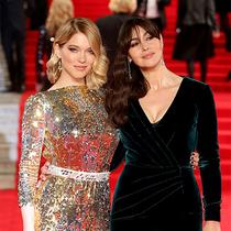 全新邦女郎莫尼卡•贝鲁奇和蕾雅•赛杜佩戴萧邦闪耀亮相《007:幽灵党》全球首映礼
