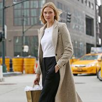 穿好一条羊毛阔腿裤 冬季显瘦就靠它