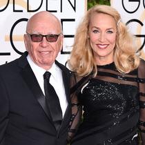 84岁传媒大亨默多克与传奇超模Jerry Hall订婚