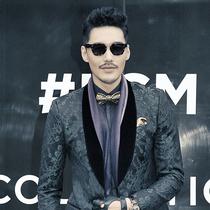 中国著名影星、伦敦时装周代言人胡兵 佩戴萧邦L.U.C系列腕表受邀出席伦敦时装周
