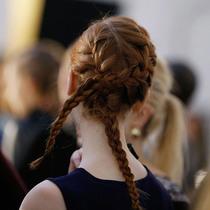 2016秋冬纽约时装周上漂亮的辫子们