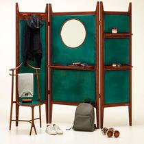Berluti攜手高端家具品牌推出屏風疊椅系列-家居