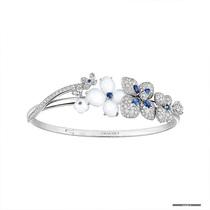 奇幻花园里的静谧芬芳   CHAUMET Hortensia Voie Lactée与 Hortensia Aube Rosée系列珠宝作品