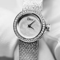 迪奥La D de Dior Satine系列高级腕表