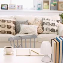 早秋气息浓 12组沙发靠枕配色方案