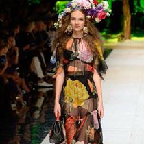 #Suzy米兰时装周  Dolce &Gabbana:欢乐纷呈