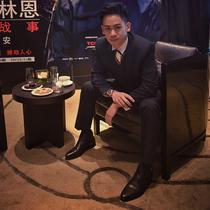 李淳佩戴万宝龙尼古拉斯·凯世镂空双时区显示计时码表亮相李安新作《比利·林恩的中场战事》北京首映礼