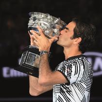 劳力士恭贺代言人罗杰‧费德勒夺得第18项大满贯 (Grand Slam®) 锦标