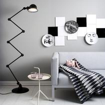 黑白色调家装 演绎优雅家居时尚风