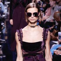 Suzy巴黎时装周:Elie Saab – 吉赛尔的阴暗面