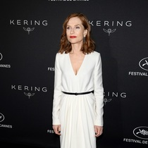 ISABELLE HUPPERT IN SAINT LAURENT - CANNES