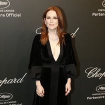 Julianne Moore wearing Alexander McQueen