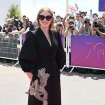 Jessica Chastain wearing Alexander McQueen