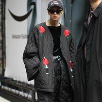 时髦又抗冻 棉服这样穿也时尚-时尚街拍