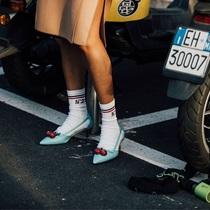 之所以露脚踝 可能是你没遇上这些时髦的袜子-衣Q进阶