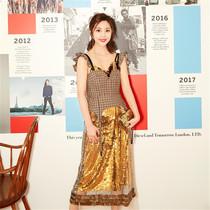 CFDA/VOGUE時尚基金巴黎時裝周中國形象大使:張馨心-星秀場