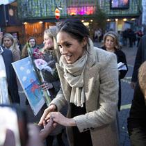 """《時代》雜志將梅根?馬克爾(Meghan Markle)譽為""""人民的王妃""""-圈內名流"""